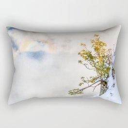 Halo in Caucasian ridge Rectangular Pillow