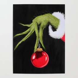 Merry Christmas from mister Grinch Poster