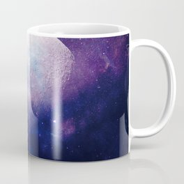 Galaxy Moon Space Coffee Mug