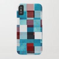 patriotic iPhone & iPod Cases featuring Patriotic Grid by plaidGecko
