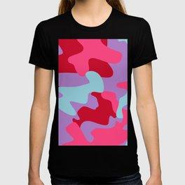 UNIQUE COLORFUL CAMO T-shirt