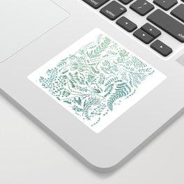 GREEN HERBS Sticker