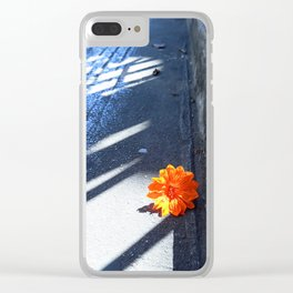 Orange You Glad? Clear iPhone Case