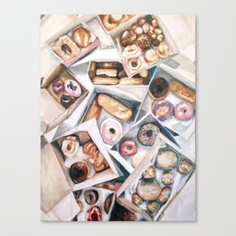 Please Donut Ever Stop Loving Me Canvas Print