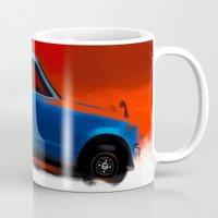honda Mugs featuring Honda Z by Vadim Artemyev