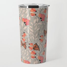 Monarch garden 001 Travel Mug
