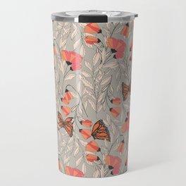 Monarch garden 001 Travel Mug