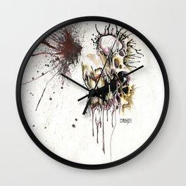 HEAD SHOT Wall Clock