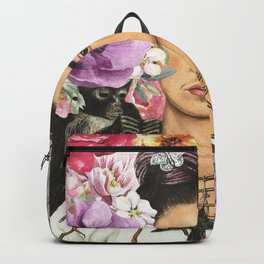 Frida Flower abstract Backpack