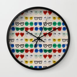Glasses (multiplied)  Wall Clock