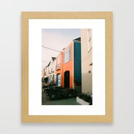 San Francisco Streets Framed Art Print