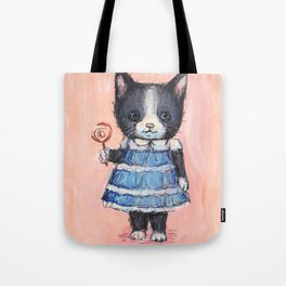 Kitty and Lolli Tote Bag