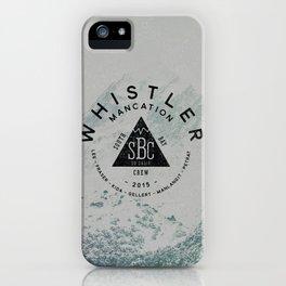 Whistler Mancation 2015 iPhone Case