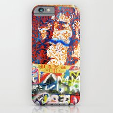 Peace on Earth - Love - Because the World is Round it Turns me On Slim Case iPhone 6s