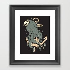 Dark Seas Framed Art Print