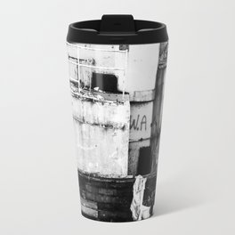 Destroyed - B/W Travel Mug