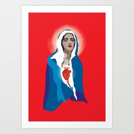 Virgin of Guadalupe Art Print