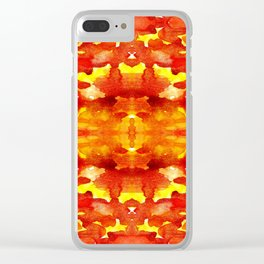 lava vulcan Clear iPhone Case