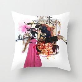 Collag2Nim Throw Pillow
