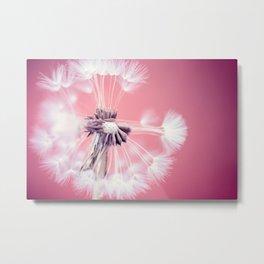 Pop Dandelion Metal Print