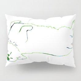 Simplistic Corgi Pillow Sham