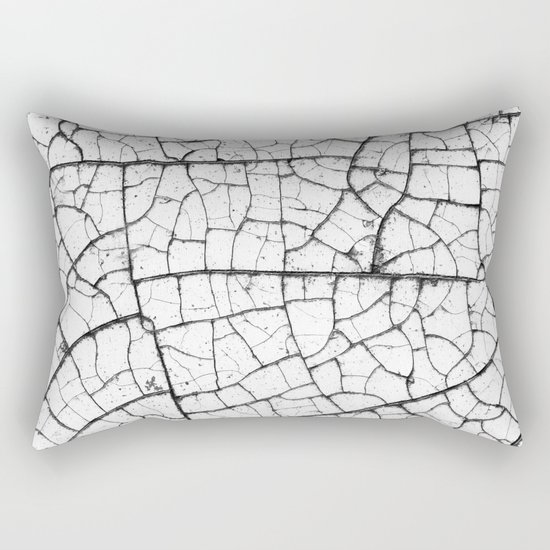 Peeling Paint Rectangular Pillow