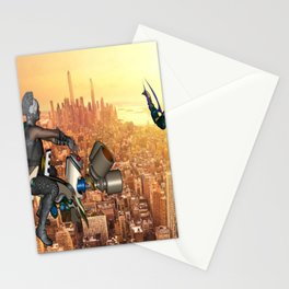 Defense of Planet Earth Stationery Cards