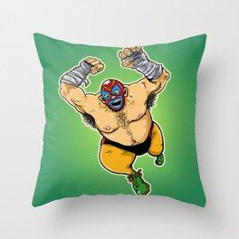 LUCHADOR Throw Pillow