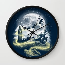 peter pan Wall Clock