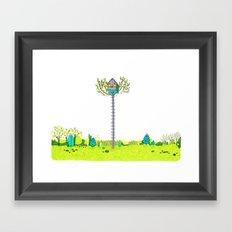 Moonrise Kingdom Fanart Framed Art Print