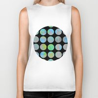 dots Biker Tanks featuring Dots  by LebensARTdesign