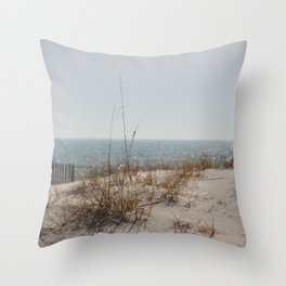 Gulf Cost Sparkle Throw Pillow