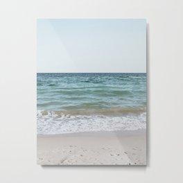 Blue summer sea 1 Metal Print