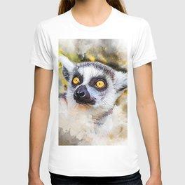Lemur #lemur #animals T-shirt