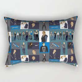 Agents of SHIELD - Minmalist Rectangular Pillow