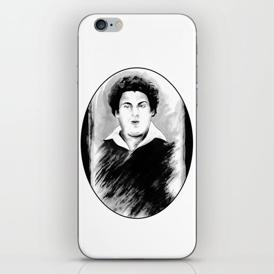 DARK COMEDIANS: Jonah Hill iPhone & iPod Skin