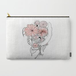 flowers illustration Carry-All Pouch
