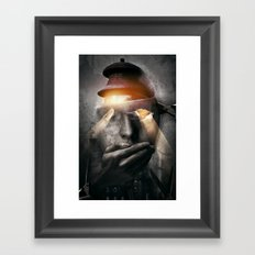 The Silent One Framed Art Print