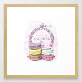 Laduree Paris Print Framed Art Print