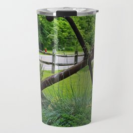 Anchors Aweigh I- horizontal Travel Mug