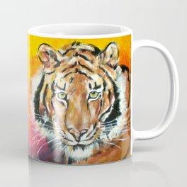 Awaiting the Darkness of Night (Male Tiger) Coffee Mug