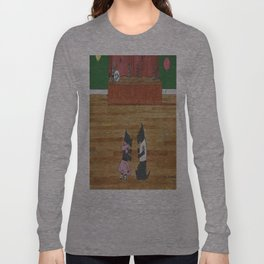 At the Hop-Scotch - Scotties - Scottish Terriers Long Sleeve T-shirt