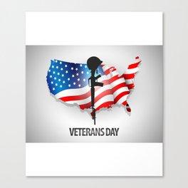 It's Veterans Day Canvas Print