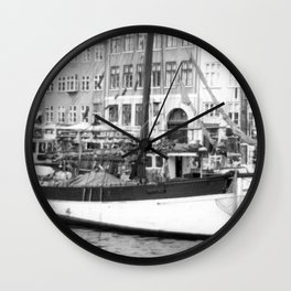 Copenhagen, Denmark (2) Wall Clock