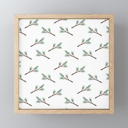 Berry Sprig Framed Mini Art Print