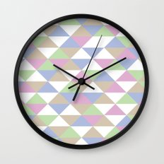 Triangle Pattern #3 Wall Clock
