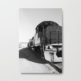 train engine Metal Print