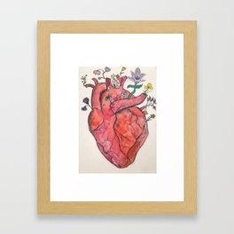 A Growing Love Framed Art Print