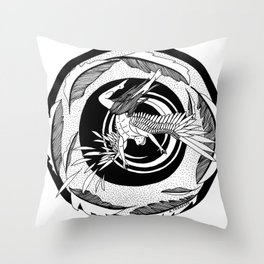 "Inktober, Day 3 ""Roasted"" #inktober #inktober2018 Throw Pillow"