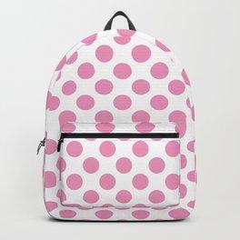 Light Pink Polka Dots Backpack